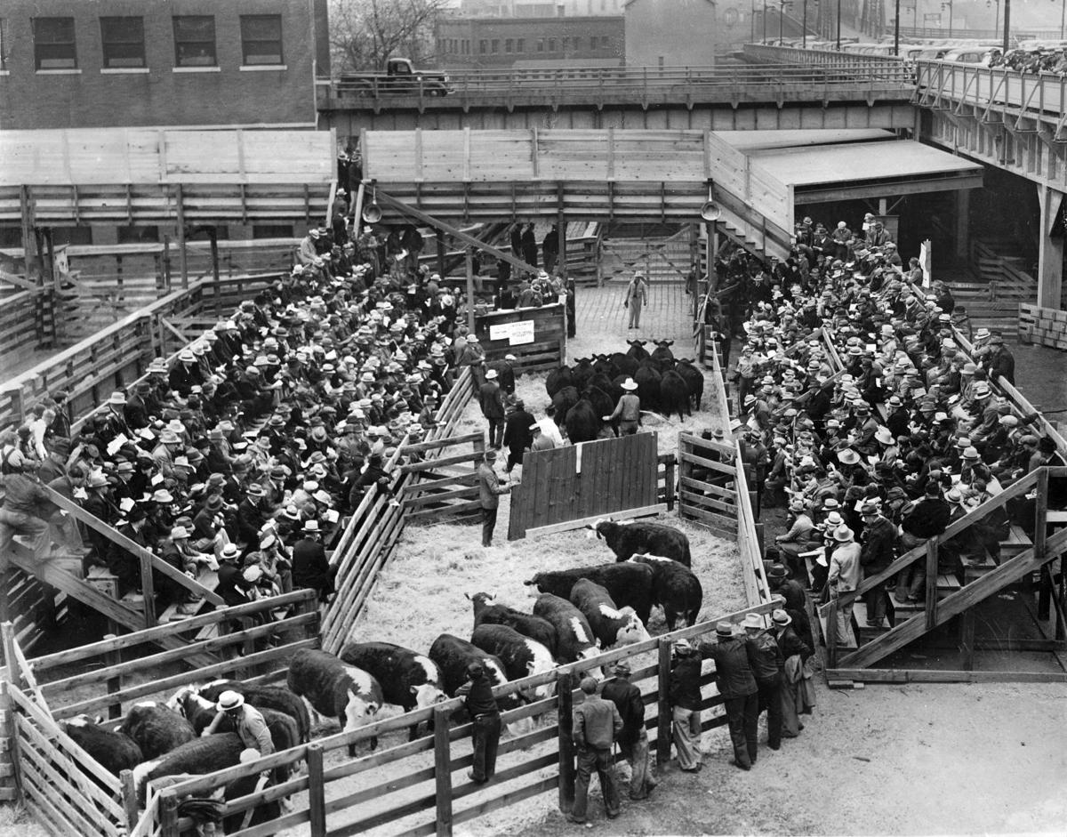 s Omaha Stockyards through the years History