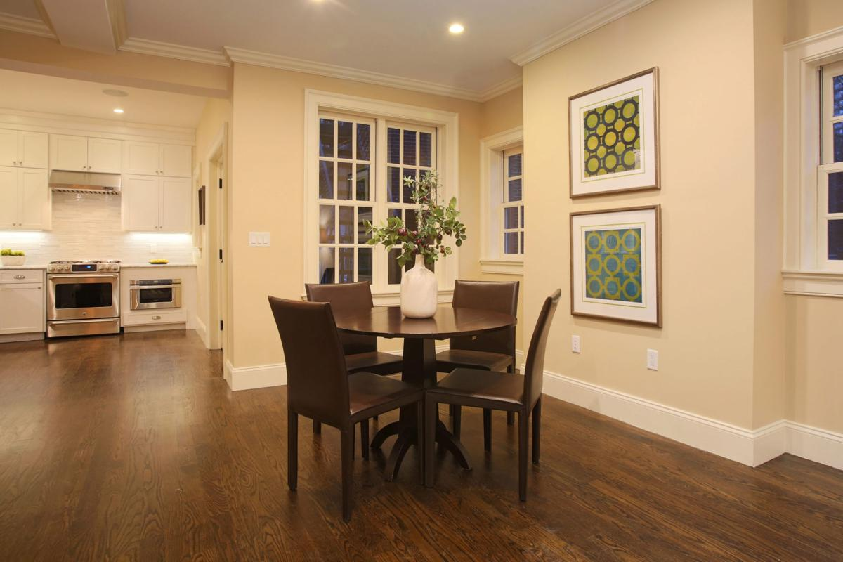 Color me impressed inspired living for Best color for kitchen cabinets for resale