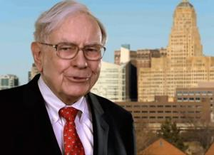 Buffett's hot on Buffalo, and happy to promote it on YouTube