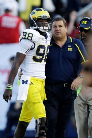 Notes: Michigan coach still seeking answers despite 5-1 start