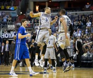 Creighton falls to Georgetown as Big East title hopes crumble