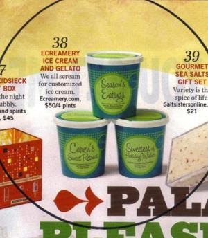 ECreamery lands in national holiday gift guides