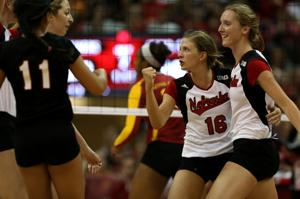 Huskers hit their stride, sweep Cyclones