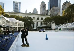 NYPD: Robbery attempt led to ice-rink shooting