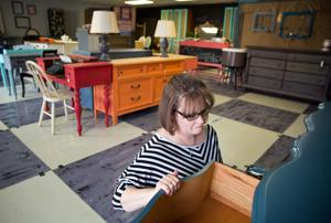 Omaha-area shops capitalize on the growing interest in refinished furniture
