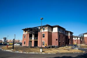 Eight freshman hockey players displaced by UNO fire