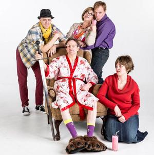 Zany family takes center stage in world-premiering play