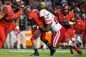 After defensive coordinator Banker provides a nudge, the Huskers have a pass rush