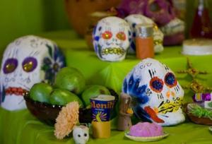 Local Day of the Dead festivities