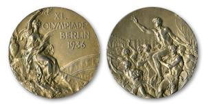 Jesse Owens' Olympic medal up for auction