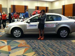Group gives Omaha woman a car