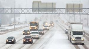 Snow snarls commute, causes cancellations across metro area