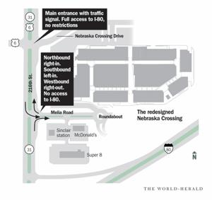 Shoppers can bargain on heavy traffic at Nebraska Crossing Outlets, but officials are ready