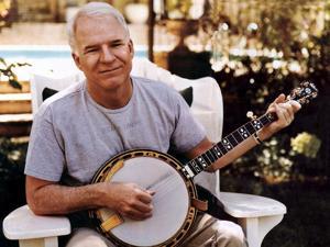 Steve Martin plays a mean banjo