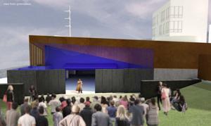 Kansas City firm's design wins Blue Barn Theatre green space contest
