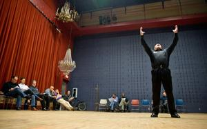 Auditioning for 'Les Miserables' at Omaha Community Playhouse ... with 350 others
