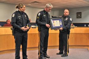 RPD officers given national life saving award