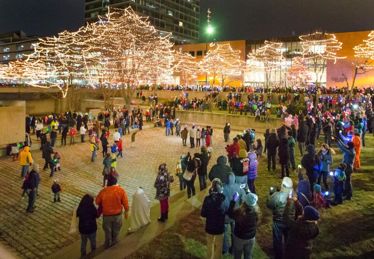 Omaha's Holiday Lights Festival