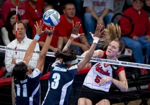 Husker volleyball team to play Texas for Final Four berth