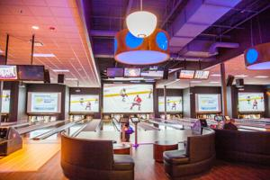 Newish west Omaha bar The V offers bowling, arcade games and a stylish restaurant