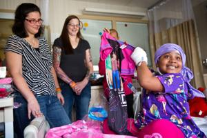 A little TLC: Jammies bring smiles, comfort to kids stuck in hospital beds
