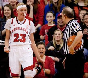 Mad Emily causes Huskers to smile