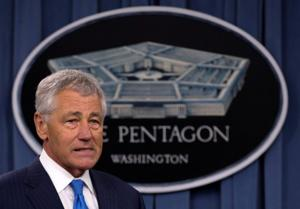 Chuck Hagel: Military is stronger with gays serving openly