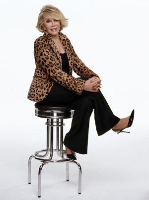 Comedian Joan Rivers brings standup routine to Omaha