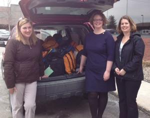 Around and about: Junior League keeps filling crisis backpacks for kids
