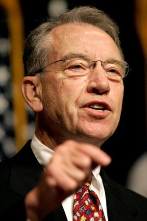 Grassley: Branstad right to worry about federal funding for Medicaid expansion