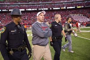 Notes: Pelini waited for review announcement before starting his celebration
