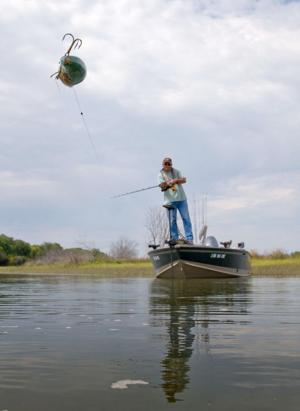 Vet's love of fishing is rekindled