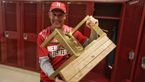 Shatel: Finally a trophy with legs, Nebraska-Minnesota's 'Broken Chair' works