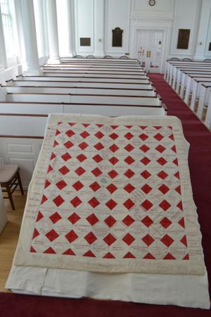 Quilt found in church basement going to museum at UNL