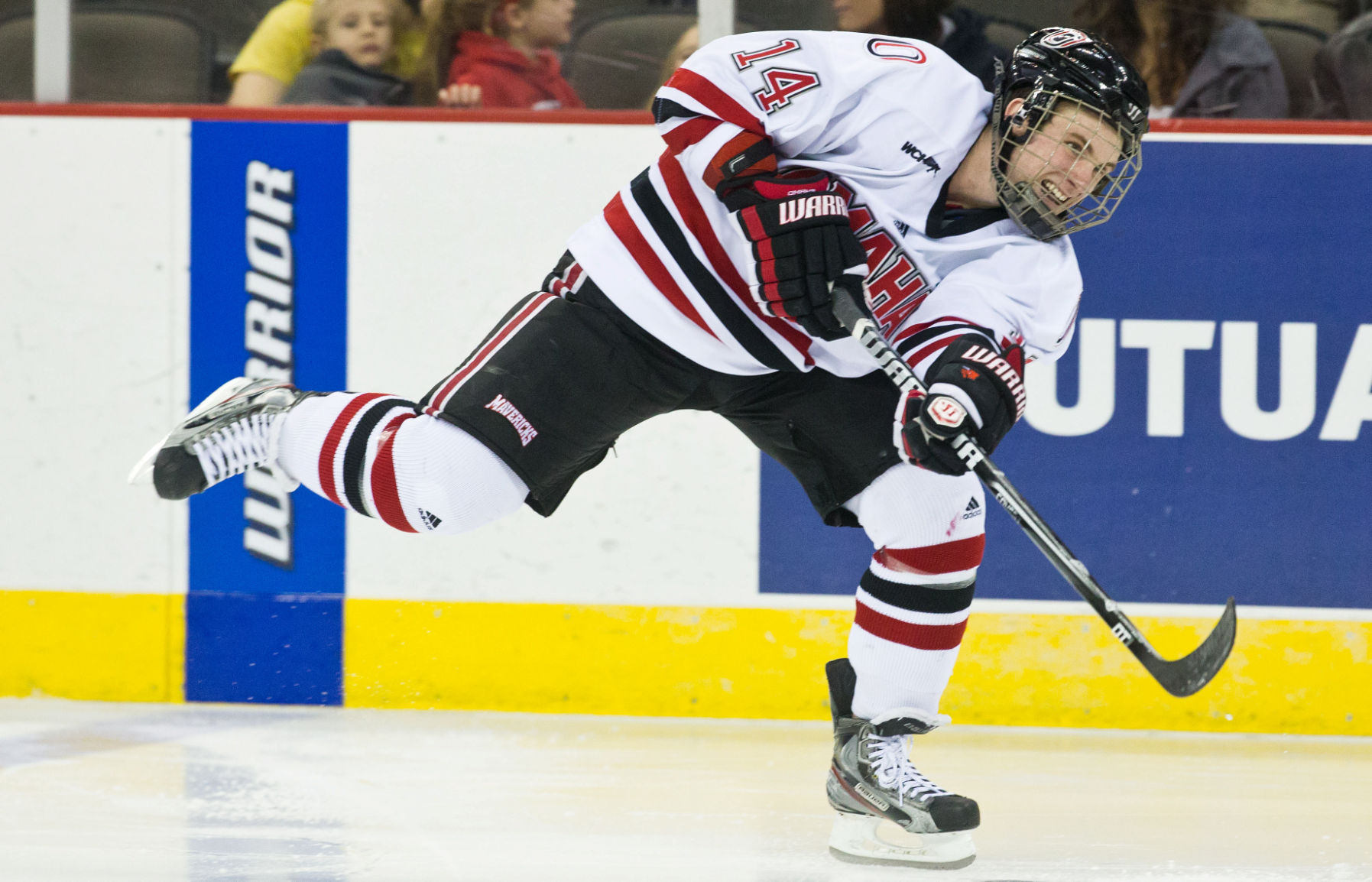 NCHC: Injured Zombo Doing What He Can For Mavericks