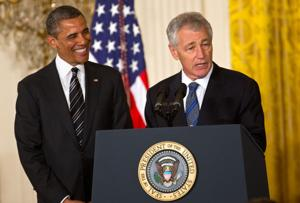 Obama: Chuck Hagel is an American patriot