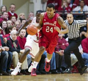 Huskers can't keep up with No. 1 Hoosiers
