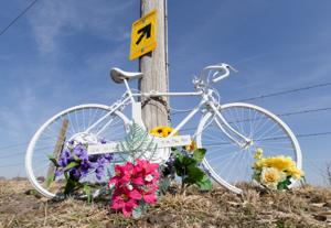 'Ghost bike' memorial honors former Millard teacher