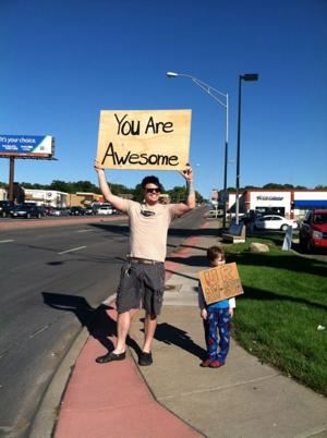 Get to know: 'You are Awesome' sign experiment turns out to be 'intoxicating'