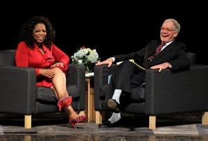 Oprah returning to Letterman's 'Late Show' after 8 years