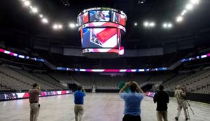 CenturyLink Center unveils new scoreboard