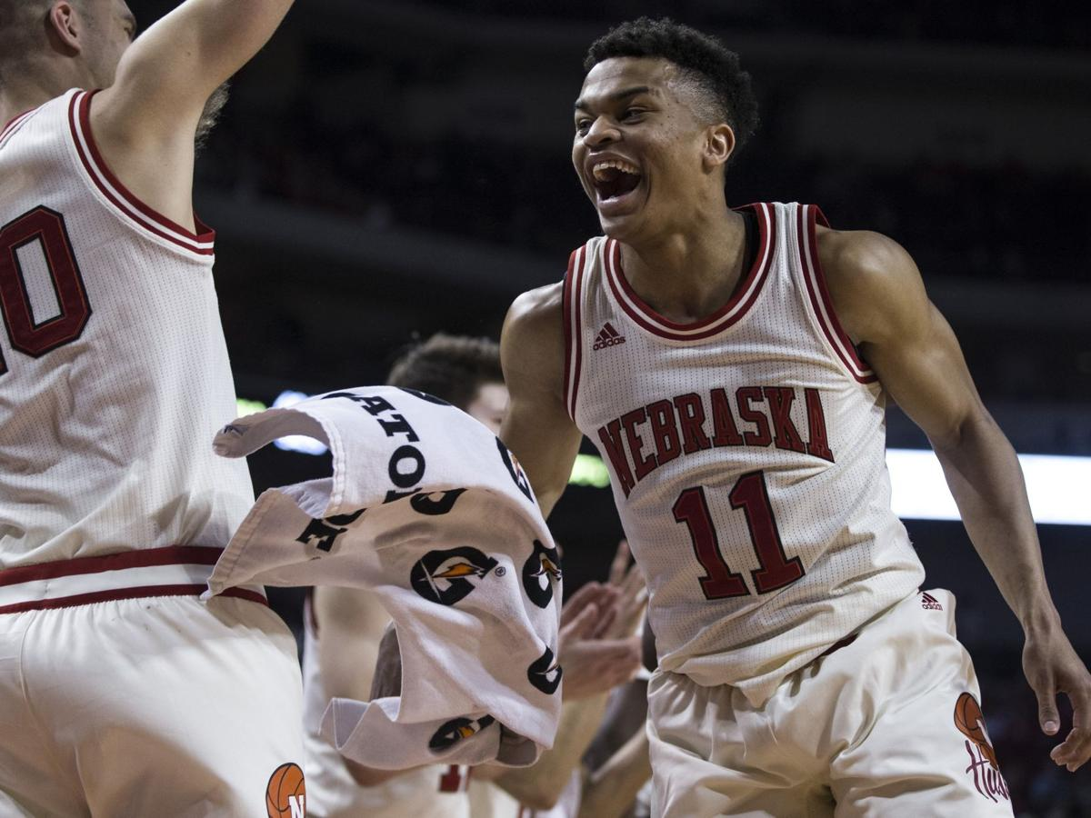 A welcome laugher: Huskers savor first easy win since November, end string of eight losses in nine games