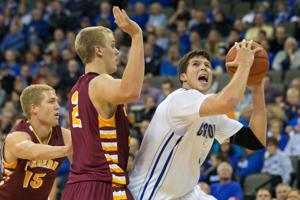 Creighton's tune-up is a layup