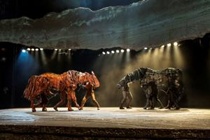 Life-size horse puppet and engaging story draw in audiences