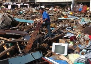 Search for missing a hellish routine after storm