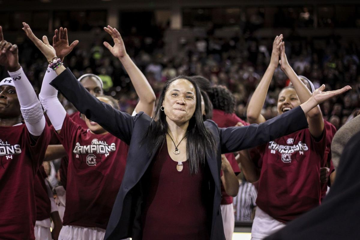 """Champions, again: Gamecocks travel """"bumpy road"""" to claim fourth straight SEC crown   Sports ..."""
