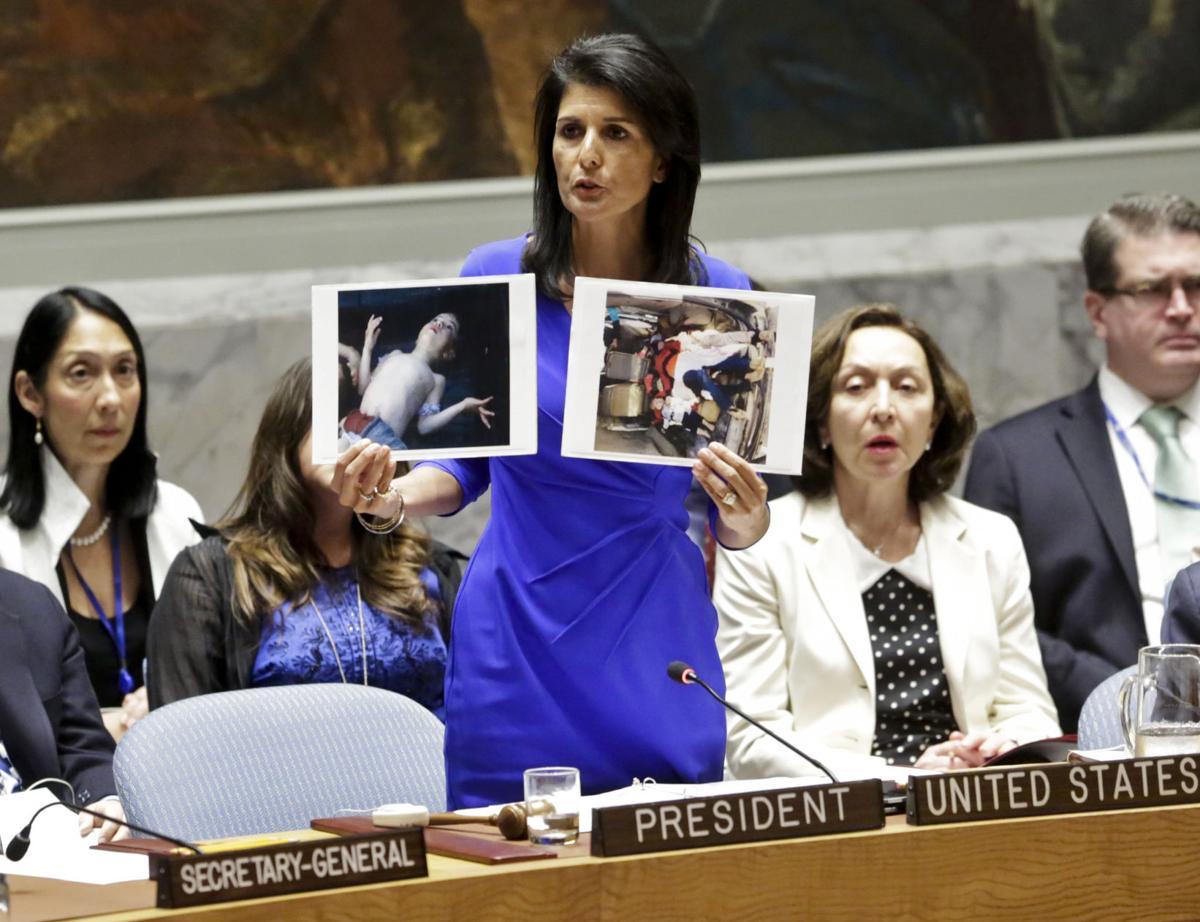 Image result for syria nikki haley