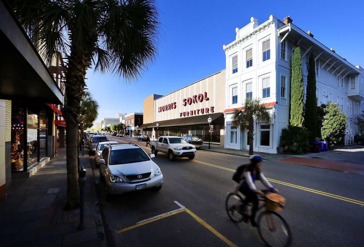 Former Morris Sokol Furniture Site In Downtown Charleston