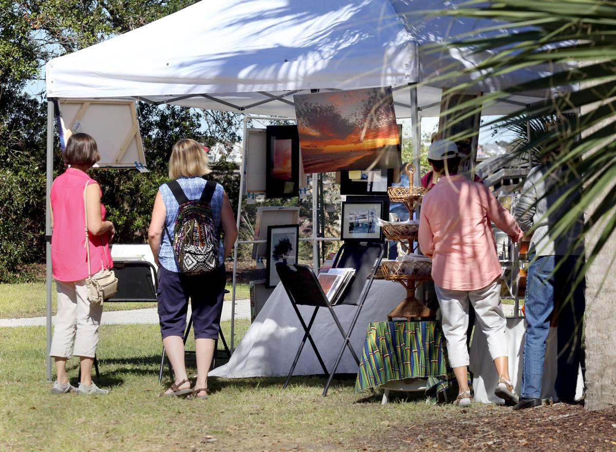 Sunday at the folly beach arts and crafts festival photo for Arts and crafts festival