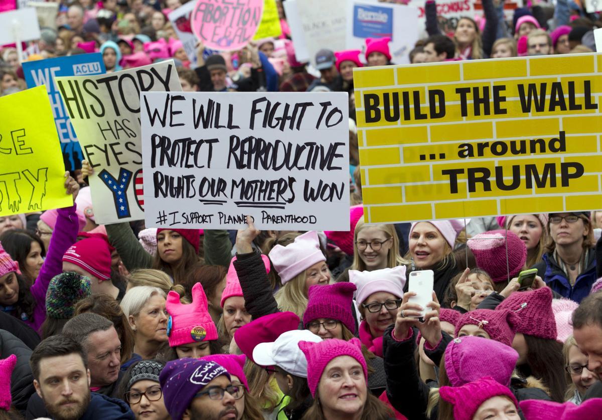 Anti-Life Feminazis Wearing 'Pussyhats' March on Washington